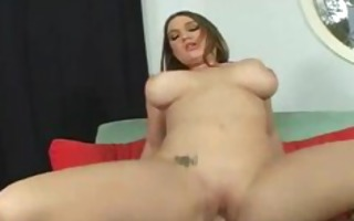 chubby knob engulfing bitch receives her moist