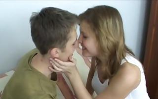 juvenile pair making love in each room