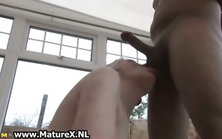 old experienced mamma blows young large part5