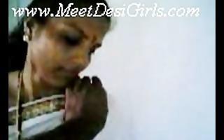 indian wife in kitcken