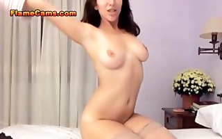 busty girl having orgasms