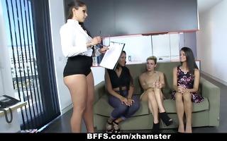 bffs - underware group sex party!