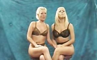 lesbo casting part 1