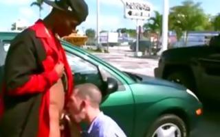 interracial blowjob exchange