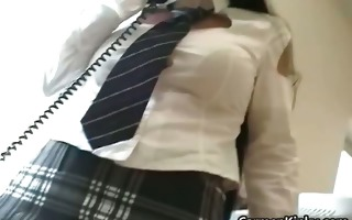 perverted school teacher carmen play weird part1