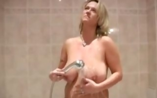 your mama in the shower