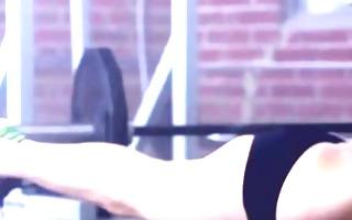 malena morgan sexy fitness workout