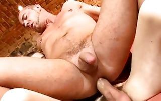 licking a giant gay schlong