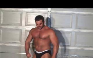 wrestling muscle god